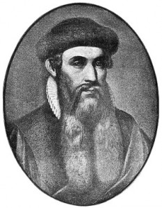 Venerable Gutenberg