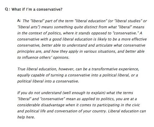 Im a liberal